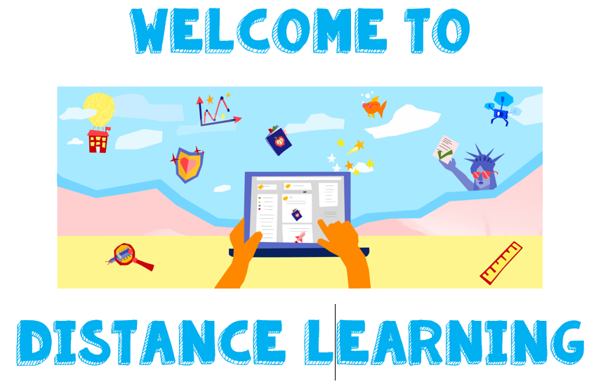 Welcome Back to School with Distance Learning!