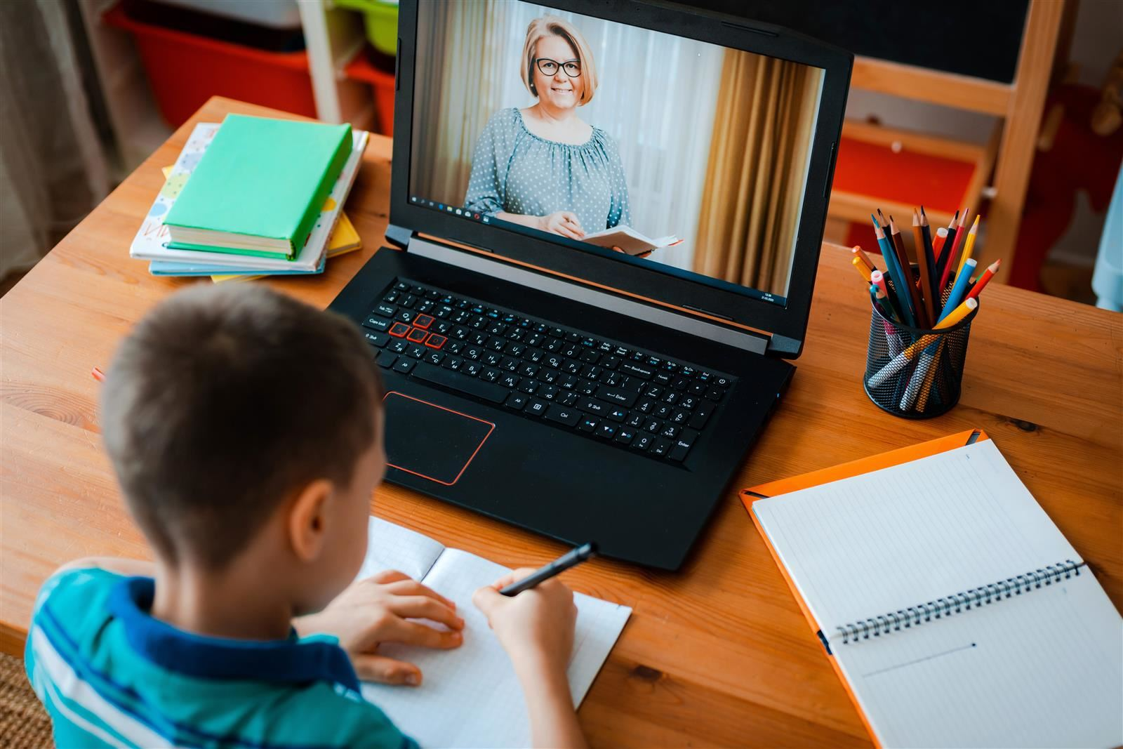 Learning continues through distance learning