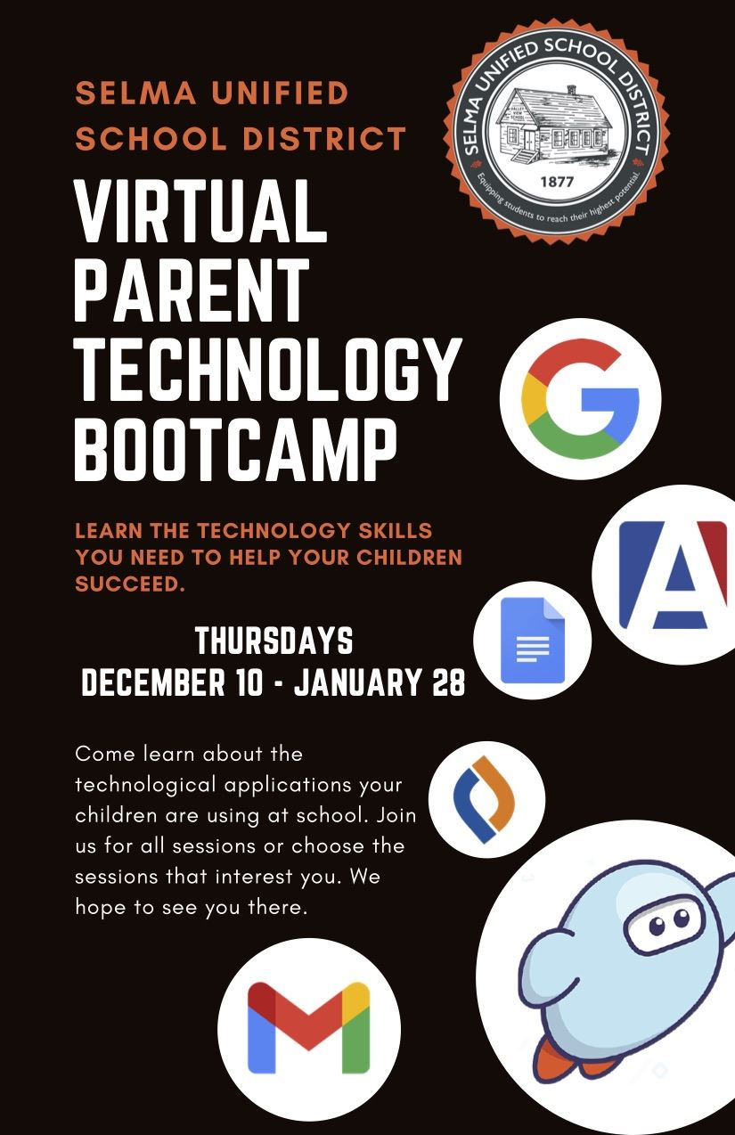 Virtual Technology Parent Bootcamp